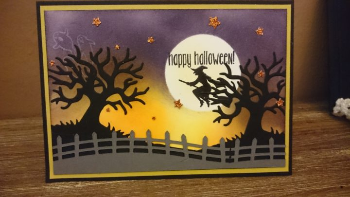 #Halloween #Card