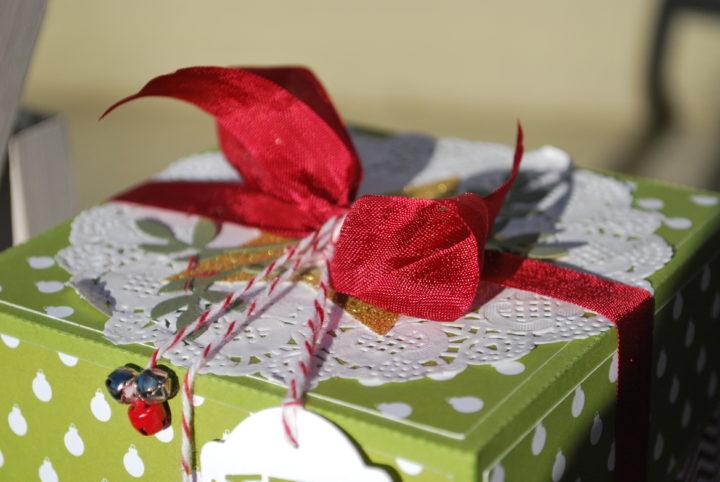 15 Minuten Weihnachten Anleitung.Weihnachtsexplosion Oder 15 Minuten Weihnachten Jutta Bastelt
